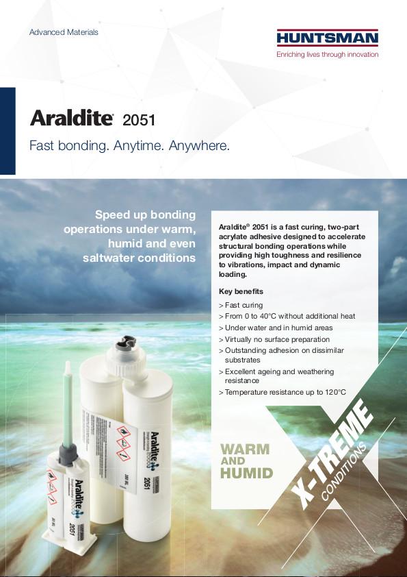 Araldite 2051 Front Cover