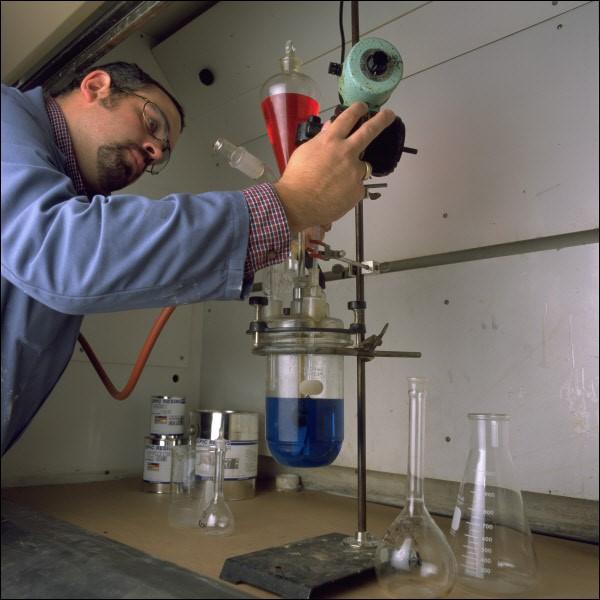 Pat Lang in Lab
