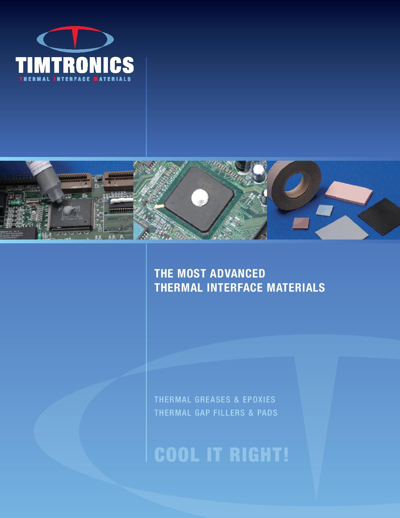 Timtronics Brochure Front